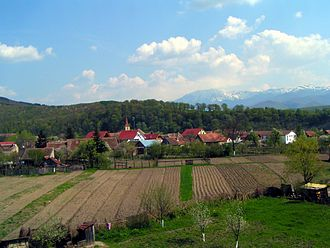 Tălmaciu - View of Tălmaciu