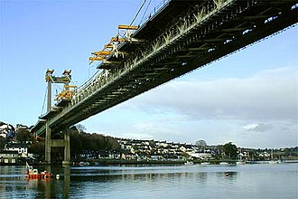 A38 road - Image: Tamar Bridge Cornwall Devon