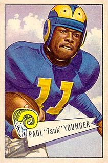 """Paul """"Tank"""" Younger American football player"""
