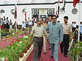 Tapan Kumar Ganguly and Shatrughan Sinha - Maritime Centre Inauguration - Science City - Kolkata 2003-10-17 00485.JPG
