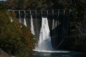 Cheoah Dam - Image: Tapoco Dam