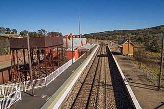Tarana railway station