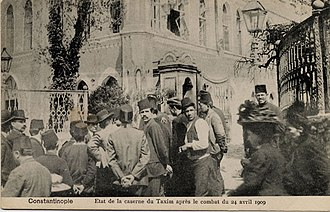 Ottoman countercoup of 1909 - Image: Tashkishla 1909