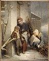 Tassaert, Octave Nicolas François (dit Octave) - La porte fermée - 92.1 - Musée de la Vie romantique.jpg