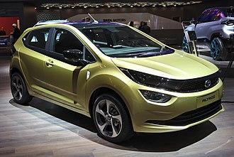 Tata Motors Cars - Image: Tata Altroz Genf 2019 1Y7A5774