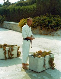 Tatsuo Suzuki (martial artist) Japanese karate grandmaster