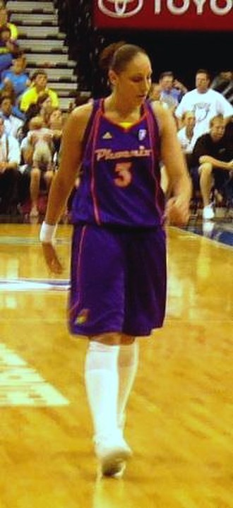 Women's National Basketball Association - Diana Taurasi of the Mercury