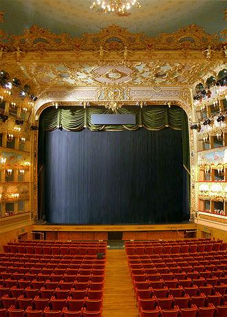 Music of Venice - Interior of La Fenice