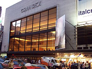 Alberto Prebisch - Image: Teatro Gran Rex Avenida Corrientes