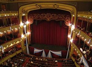 Teatro del Libertador General San Martín - View of the concert hall