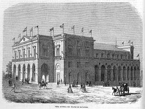 Sauto Theater - Image: Teatro de Matanzas, en El Museo Universal