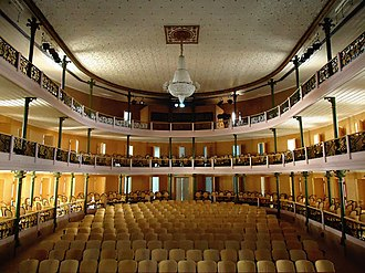 Maceió - Hall of the Deodoro Theatre.
