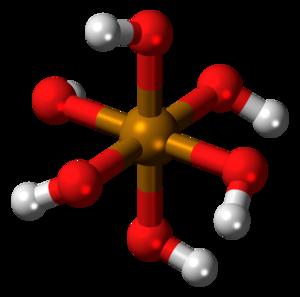 Telluric acid - Image: Telluric acid 3D balls