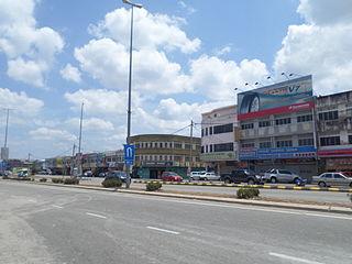 Temerloh Town in Pahang Darul Makmur, Malaysia