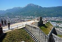 Terrazza della Bastiglia, Grenoble