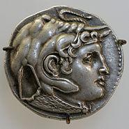 Tetradrachm Ptolemaeus I obverse CdM Paris FGM2157