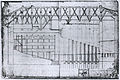 Théâtre du Palais-Royal 1673 - longitudinal section - WD Howarth 1997 p149.jpg