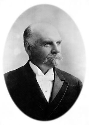 Thaddeus S. C. Lowe - Thaddeus Lowe, ca. 1890