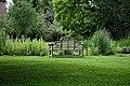 Thakeham Bench at Easton Lodge Gardens, Little Easton, Essex, England 06.jpg