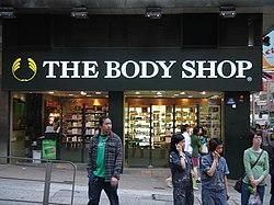 The Body Shop in Tsim Sha Tsui, Hong Kong.