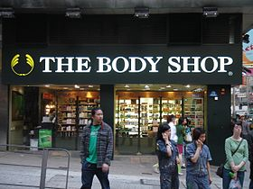 illustration de The Body Shop