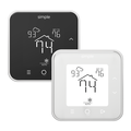 TheSimple thermostats, white and black.png