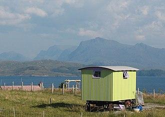 Shepherd's hut - Shepherd's hut in Loch Ewe
