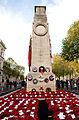 The Cenotaph, Whitehall, London Following the Remembrance Day Parade in 2010 MOD 45153270.jpg