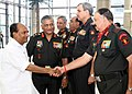 The Chief of Army Staff, Gen. V.K. Singh introducing the Army Commanders to the Defence Minister, Shri A. K. Antony at the inauguration of Army Commanders' Conference, in New Delhi on October 25, 2010.jpg