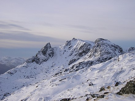 The Cobbler, one of the most popular hillwalking venues in the park.