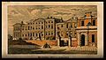 The General hospital, Birmingham. Coloured lithograph by M. Wellcome V0012231.jpg