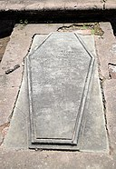 The Grave of Alphonse Herklots Lacroix at Dutch Cemetery, Chinsurah.jpg