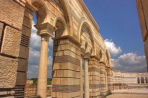 Battle of Pliska - Image: The Great Basilica Klearchos 2