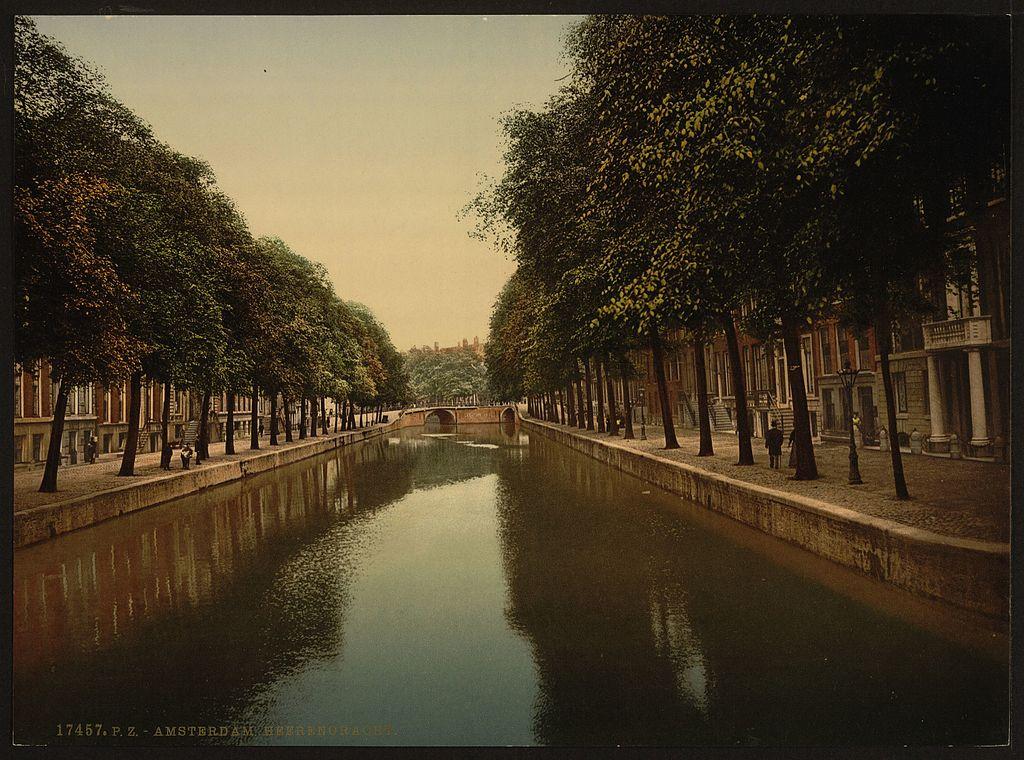 Canal Herengracht à Amsterdam