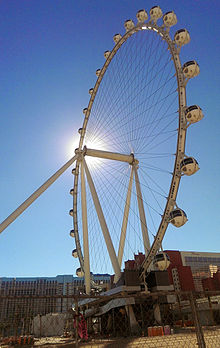 The High Roller Ferris Wheel