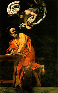 The Inspiration of Saint Matthew by Caravaggio.jpg