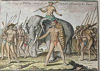 The King of Cochin riding on an Elephant, attended by his Nairs.jpg