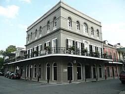 Panstvo Madam LaLaurie na 1140 Royal Street v New Orleans.