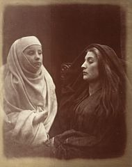 The Little Novice and Queen Guinevere In The Holy House Of Almsbury LACMA M.2008.40.378.jpg