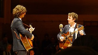 The Milk Carton Kids - Image: The Milk Carton Kids Calvin College Grand Rapids MI May 2014