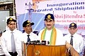 The Minister of State for Defence, Shri Jitendra Singh addressing a press conference after inaugurating the Integrated Shipbuilding Complex, in Kolkata on June 06, 2013.jpg