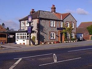 Roughton, Norfolk -  The New Inn public house, Roughton