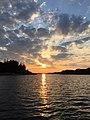 The North Sea sunset.jpg