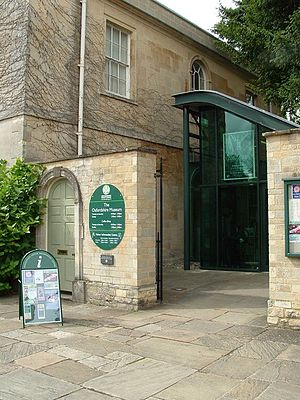 The Oxfordshire Museum - The entrance of the useum.