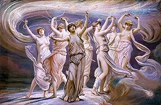 Pleiades (Greek mythology) celestial nymphs in Greek mythology