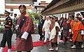 The Prime Minister, Shri Narendra Modi at the ceremonial reception, at Tashichhodzong Palace, in Thimphu, Bhutan on June 15, 2014.jpg