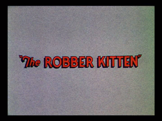 <i>The Robber Kitten</i> 1935 film by David Hand