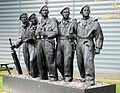 The Royal Tank Regiment Memorial Statue, The Tank Museum, Bovington. (11373707335).jpg