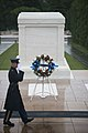 The Sophomore Class of the 114th Congress lays a wreath at the Tomb of the Unknown Soldier in Arlington National Cemetery (17318430403).jpg