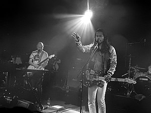 Thick as Thieves (The Temper Trap album) - The Temper Trap performing at The Old Market in Brighton and Hove, as part of The Great Escape Festival, in May 2016.